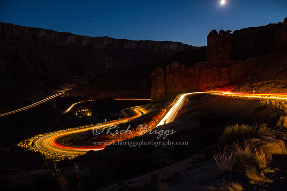 A Different and Colorful Image of Arches National Park