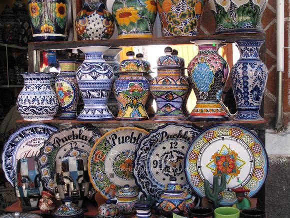 Rich briggs images of colorful puebla mexico talavera - El mercadillo de talavera ...